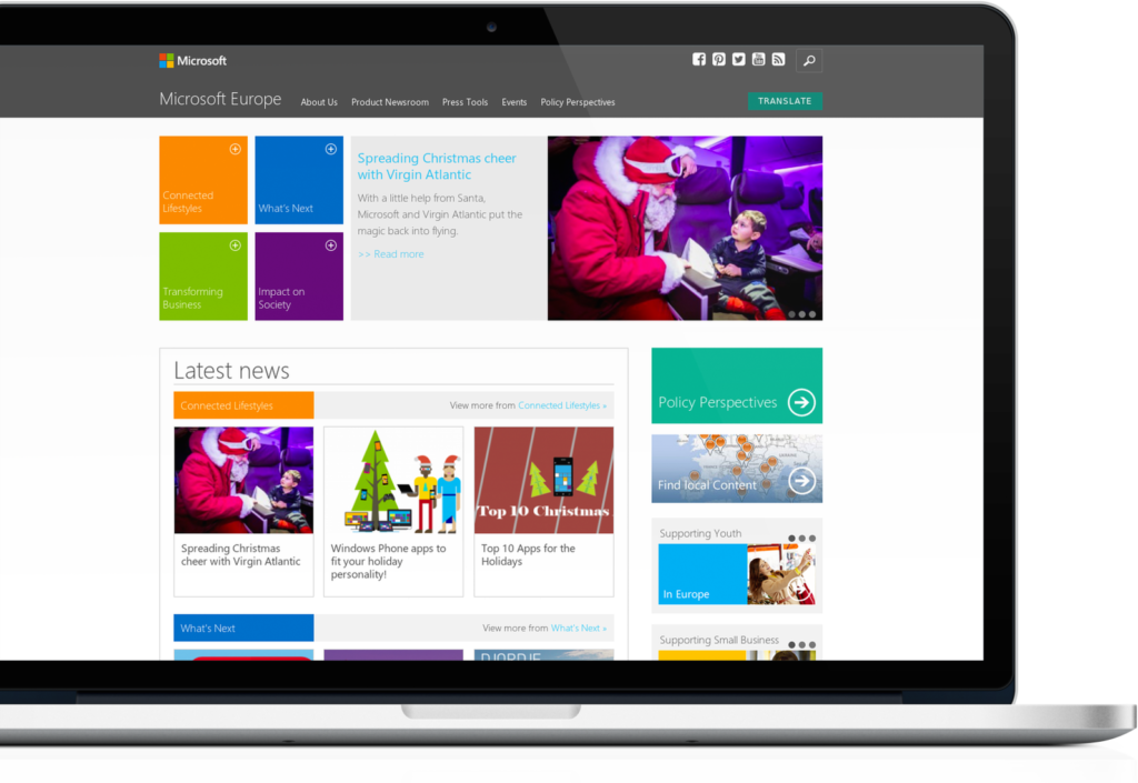 microsoft wordpress website webdevstudios