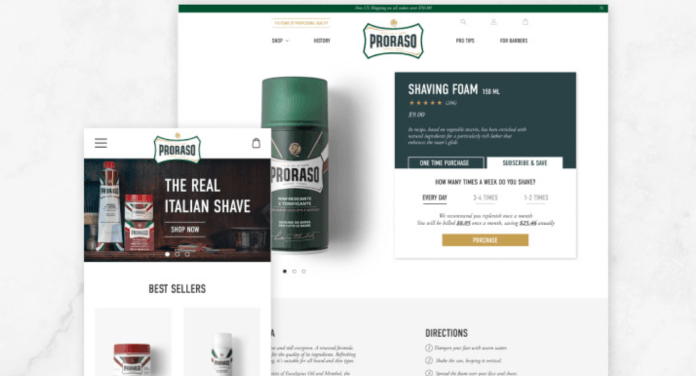 Parkfield Commerce Proraso Shopify