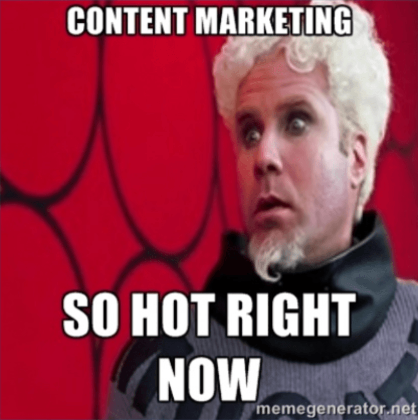 content marketing is a big deal