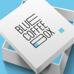 Blue Coffee Box Creative Example