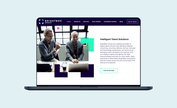 BrightBox Group Website Creative