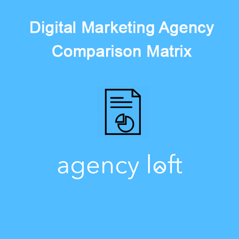 digital agency comparison matrix template