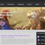 AGN Website Design Example
